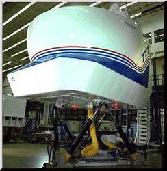 Laboratoire de robotique: Flight simulator